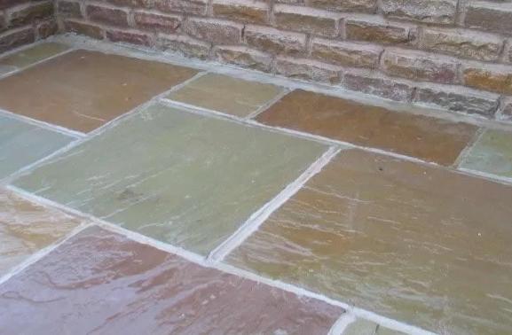 Tumbled Raj Indian Sandstone