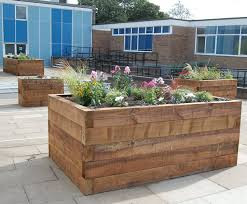 Softwood Sleeper - Raised Flowerbed