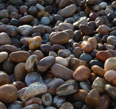 Scottish Tweed Pebbles - Wet