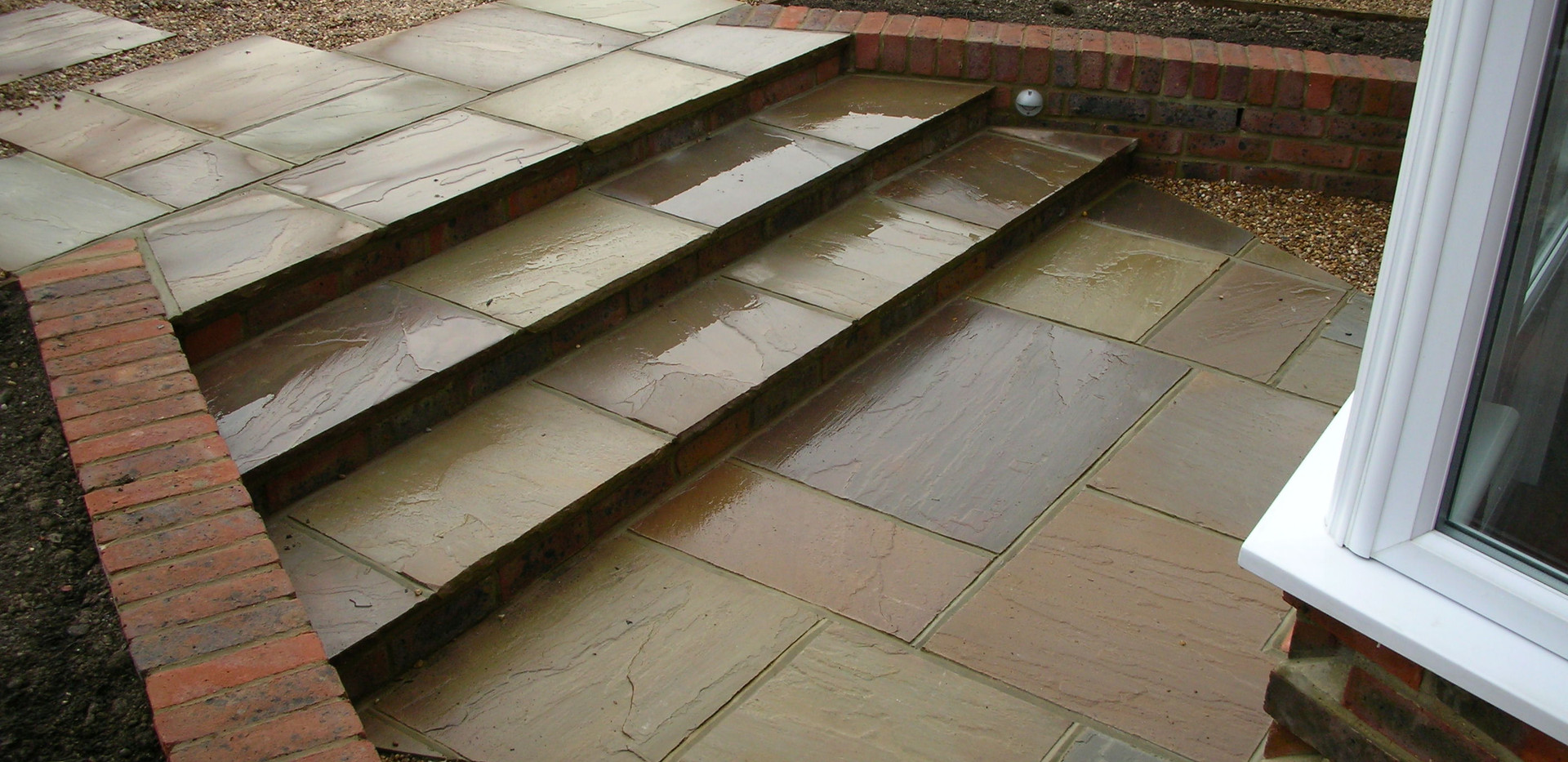 Raj Sandstone Paving, Freshfield Lane 1st Facing Bricks