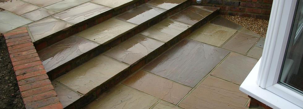 Raj Sandstone Paving, Freshfield Lane 1st Facing Bricks