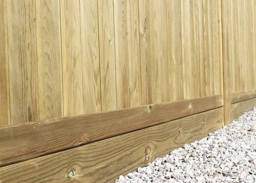 Timber Gravel Board