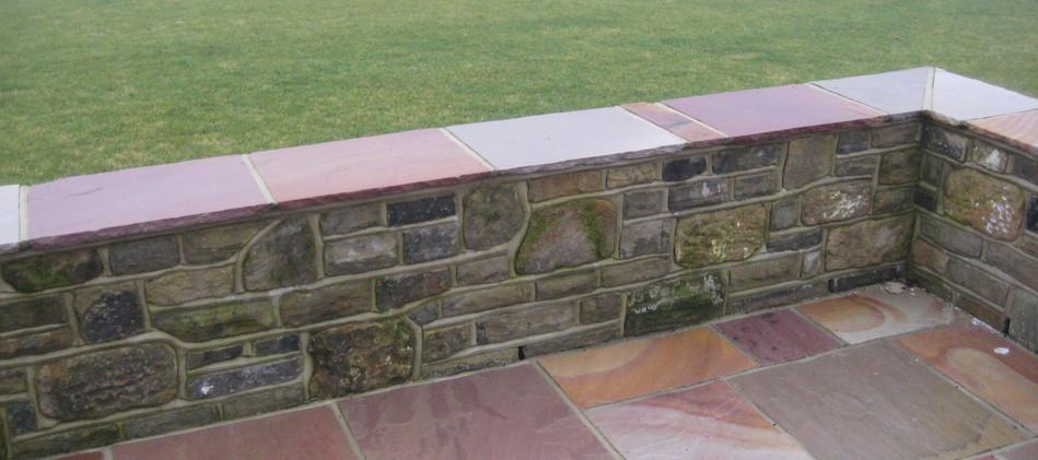 Reclaimed York Stone, Cameldust Sandstone.