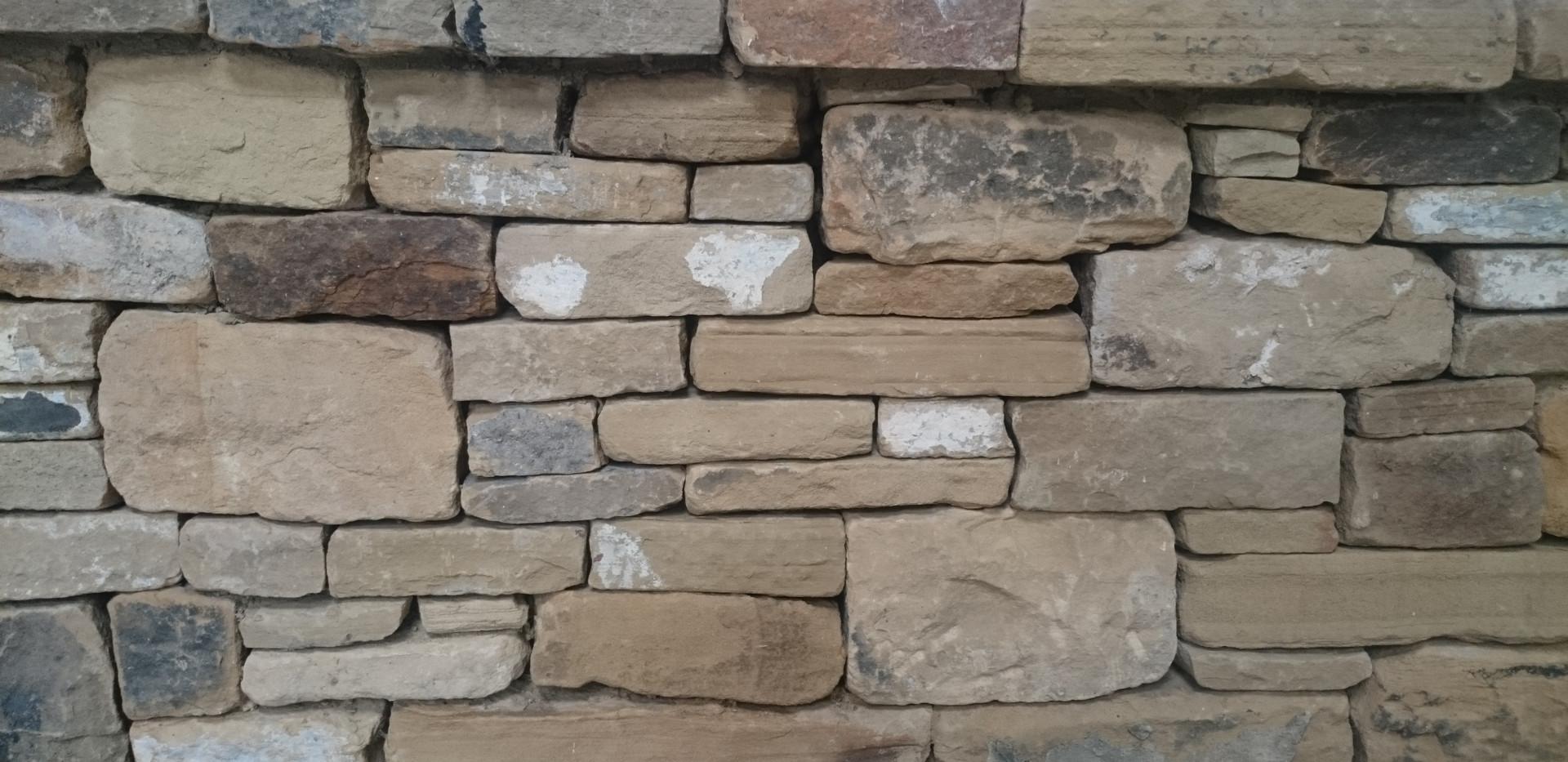 Reclaimed York Random Garden Walling Stone