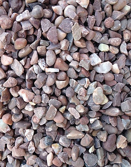 14mm: Cheshire pink gravel has warm tones of pink, lilac and white that looks great as border or pathway.  Ideal Uses: - Driveways & Paths - Alpines & Rock Gardens - Borders & Beds  Please note:  This is a subtle aggregate, giving a natural colourful finish and is best laid 3-4cm deep. The actual size ranges between 8-16mm.
