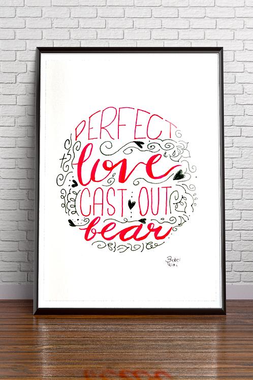 Poster Perfeito Amor