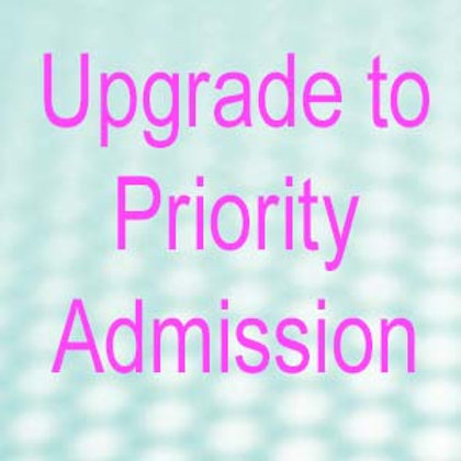 Upgrade to Priority Admission Ticket