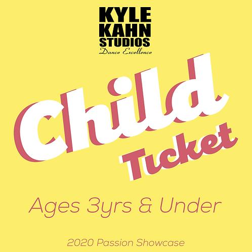 Child Showcase Ticket