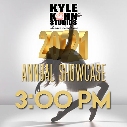 3:00pm ADULT TICKET Annual Showcase