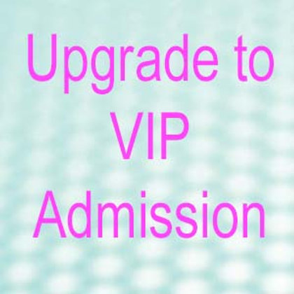 Upgrade to VIP Admission Ticket