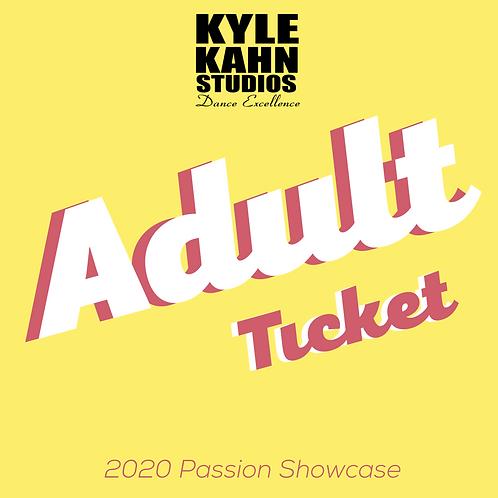 Adult Showcase Ticket