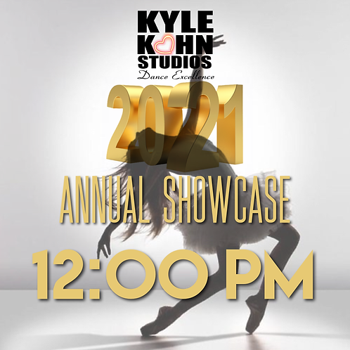 12:00pm CHILD TICKET Annual Showcase