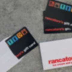 Rancatore's Gift Cards