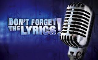 Don't forget The Lyrics