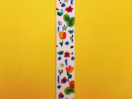 Hand painted bookmark!