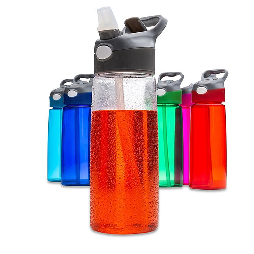 50 Squeezes de Plástico 650ml Personalizadas