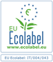 Simbolo certificazione Ecolabel