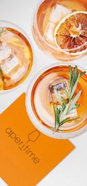 Tovagliolo in Ovatta - Aperitime Mandarino