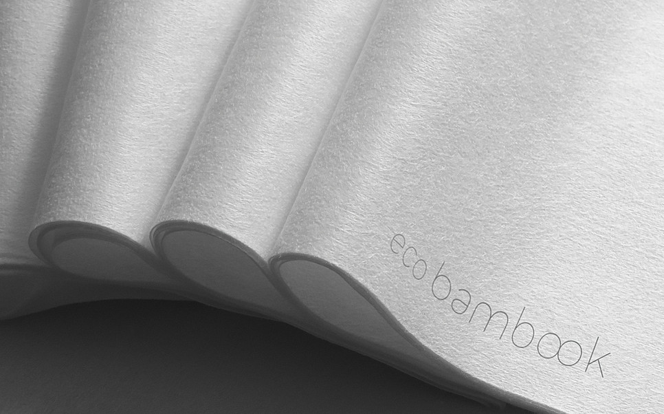 Tovaglioli in Ecobambook - Bianco