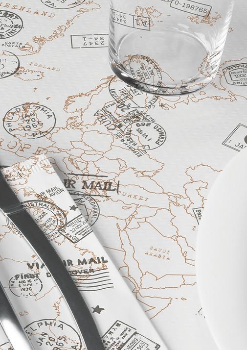 Set coordinato in carta - Travel