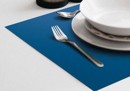 Tovaglietta in Carta - Blu