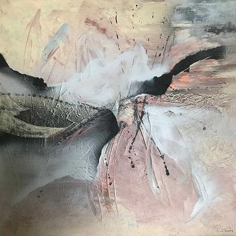Abstrakt Rose von Rosieta Braun