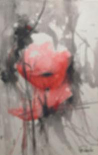 Mohnblume von Rosieta Braun