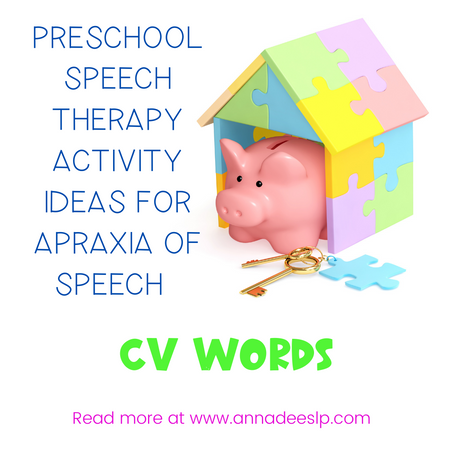 Apraxia of Speech Treatment Ideas