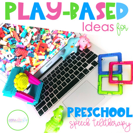 5 Fun Play-Based Ideas for Preschool Speech Teletherapy