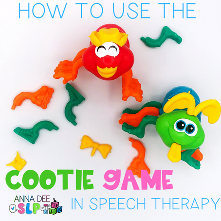 How to Use the Cootie Game in Speech Therapy