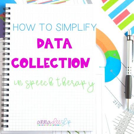 Taking Data in Speech Therapy - Made Easy!