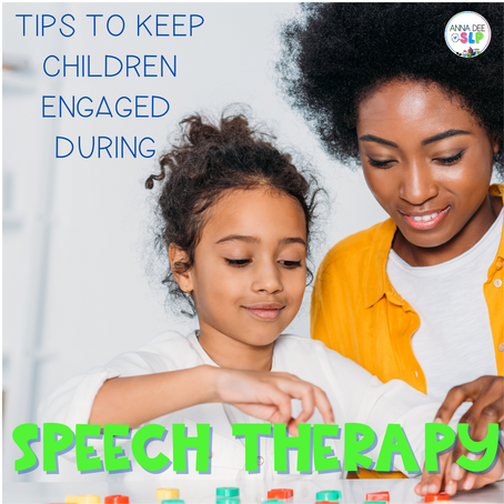 How to keep preschoolers engaged in Speech Therapy