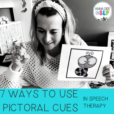 7 Ways to Use Pictoral Cues during Speech Therapy