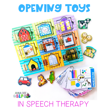 How to Use Opening Toys in Preschool Speech Therapy