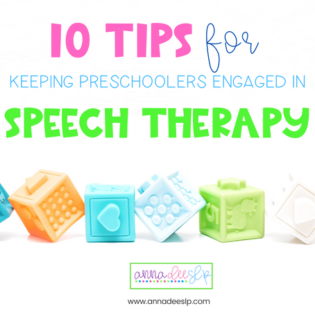 10 Tips for Keeping Preschoolers in Engaged in Therapy Sessions