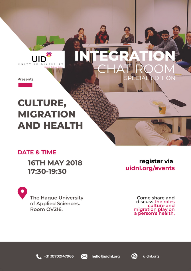 Culture, Migration and Health.