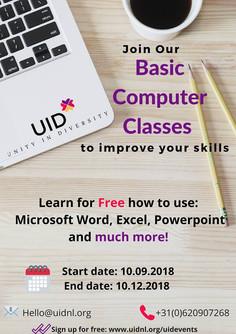 Free Basic Computer skills Course