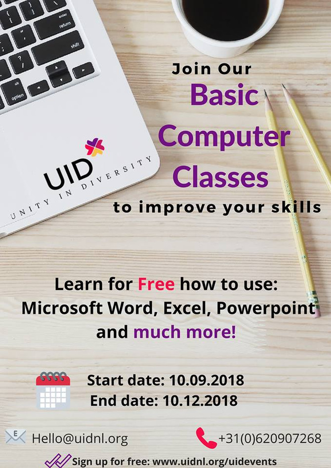 Free Basic Computer skills Course