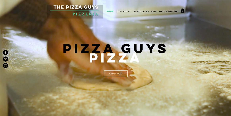 PIZZA GUYS MOCKUP