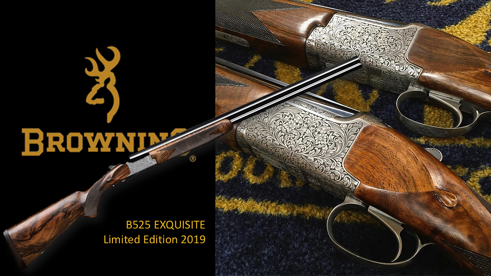 Browning B525 Exquisite, 2019 Special Edition