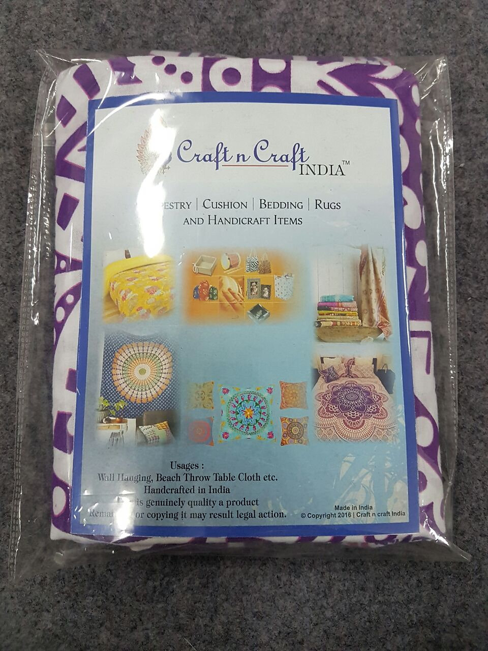 home craft n craft india tapestry hippie elephant mandala