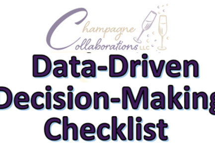 Data-Driven Decision-Making Checklist