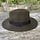 Thumbnail: Fedora 100% Wool Hat - Adjustable Size