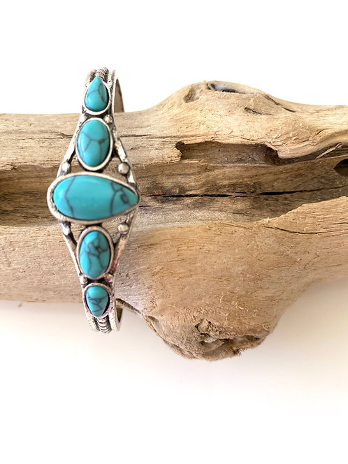 Summer Turquoise Bangle
