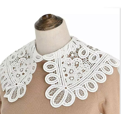 Big Lace Faux Collar