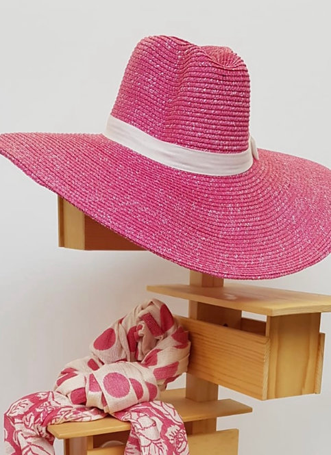 Saint-Tropez Hat - Hot Pink
