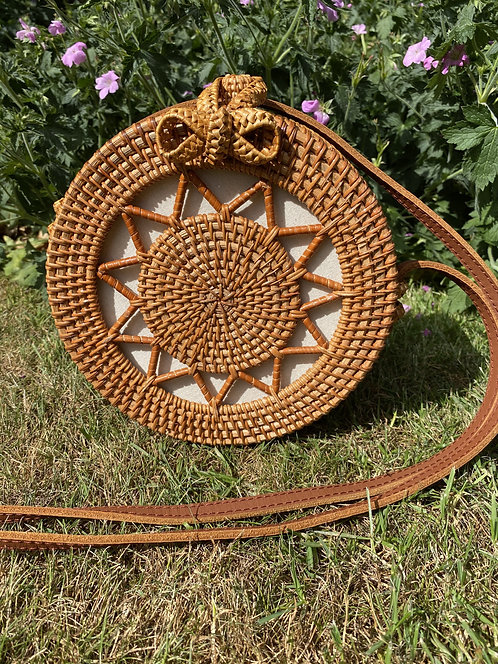 Round Bow Crossover Rattan