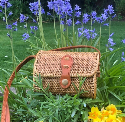 Rattan Crossover Bag