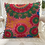 Thumbnail: Green & Pink Circular Pattern Cushion