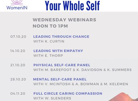 WomenIN Wednesday Webinars